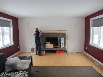 Xandre Verkes - Livingroom paint-8